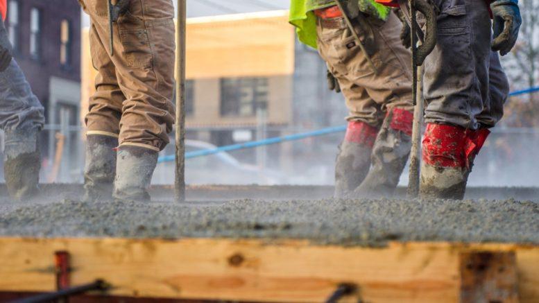 béton quartzé pour le revêtement du sol