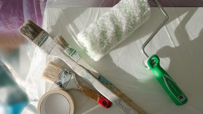 odeurs de peinture