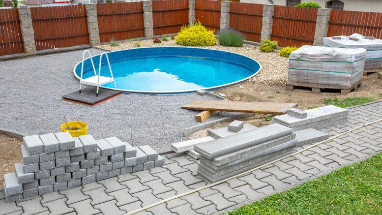 construction piscine en Belgique